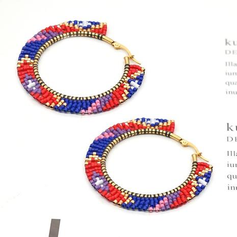 simple geometric miyuki beads earrings NHGW321404's discount tags