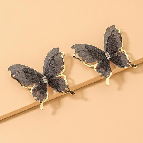 Pendientes mariposa de tul aguja de plata 925 NHNJ321412's discount tags