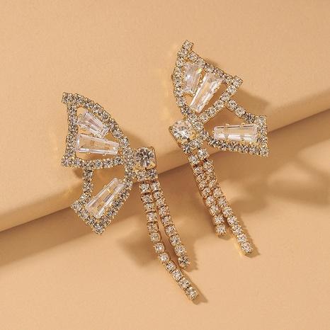 Pendientes de borla de circonita mariposa de moda NHNJ321417's discount tags
