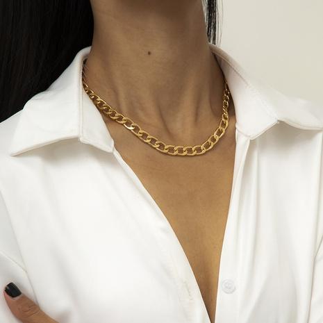 collier à pampilles à chaîne rétro simple NHXR321504's discount tags