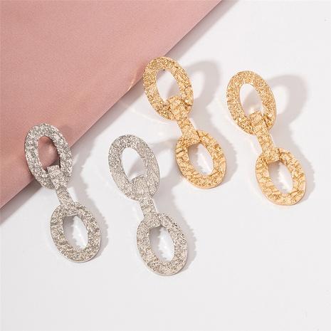 fashion retro geometric earrings NHAI321528's discount tags