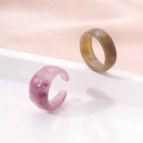 new fashion retro acetate acrylic ring NHAI321540's discount tags