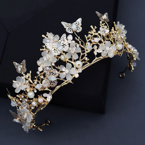 fashion fairy handmade butterfly flower crown  NHHS321590's discount tags