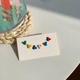 NHNJ1482133-Silver-Post-Colorful-Mickey-Head-Stud-Earrings