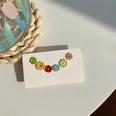NHNJ1482134-Silver-Post-Color-Daisy-Stud-Earrings