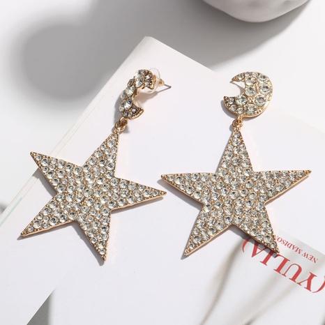 Boucles d'oreilles grandes étoiles exagérées en gros NHQC321593's discount tags