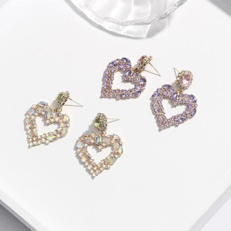Korean fashion love earrings NHQC321625's discount tags