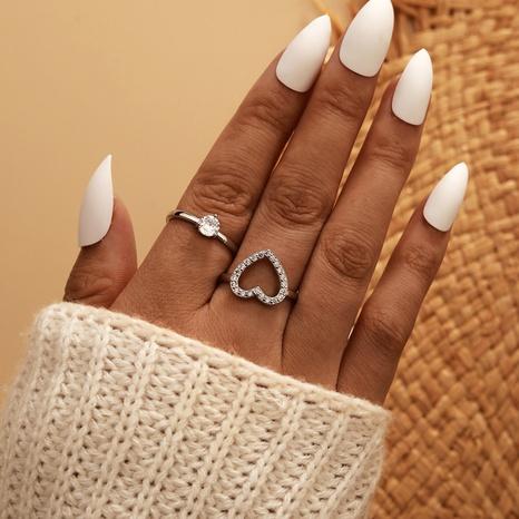 fashion diamond love ring  NHGY321621's discount tags