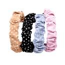 Fashion bubble fold polka dot fabric headband NHCL330896