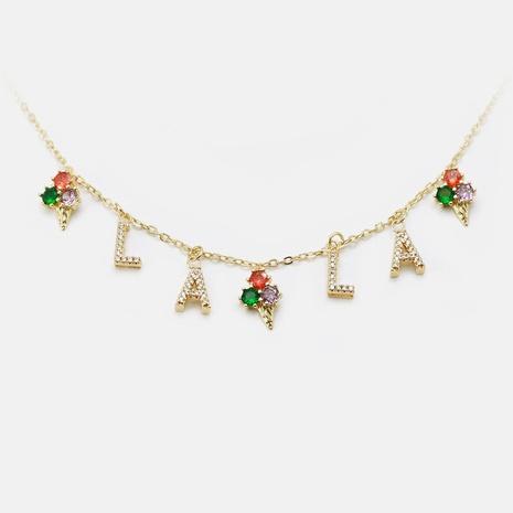 Fashion ice cream zircon copper accessories NHWV330693's discount tags