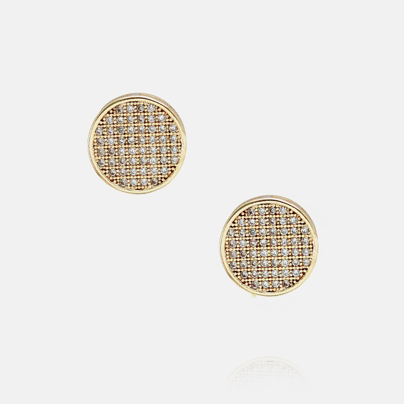 fashion zircon earrings wholesale NHWV330698