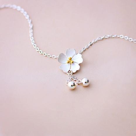 Korean Cherry Blossom Tassel pendant NHKL331025's discount tags