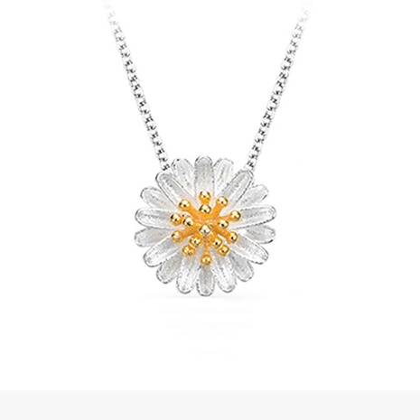 Fashion daisy sunflower pendant NHKL331030's discount tags