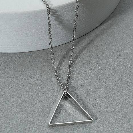 Mode Dreieck Anhänger Halskette NHACH329458's discount tags