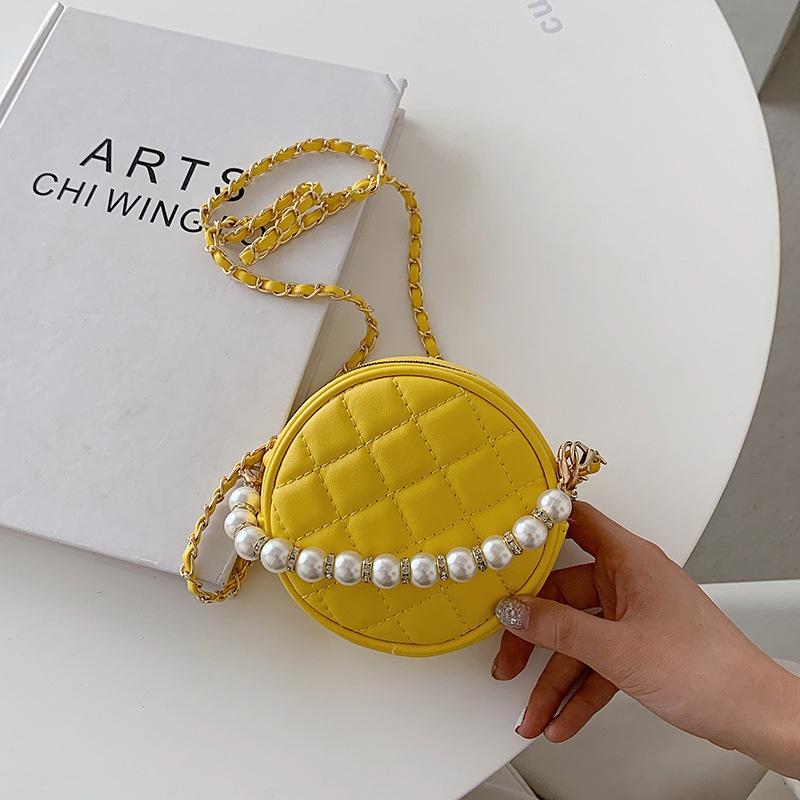 Fashion rhombic chain shoulder messenger small bag wholesale NHTG333880