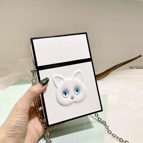 Petit sac carré d'épaule de chat de mode en gros NHTG333883's discount tags