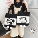 Cartoon canvas cute handbag NHTG333892