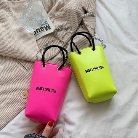 Bonbonfarbe Mini tragbare Eimer Handytasche NHTG333913's discount tags