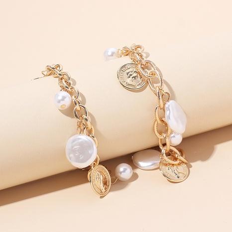 Fashion pearl alloy bracelet wholesale NHRN334043's discount tags