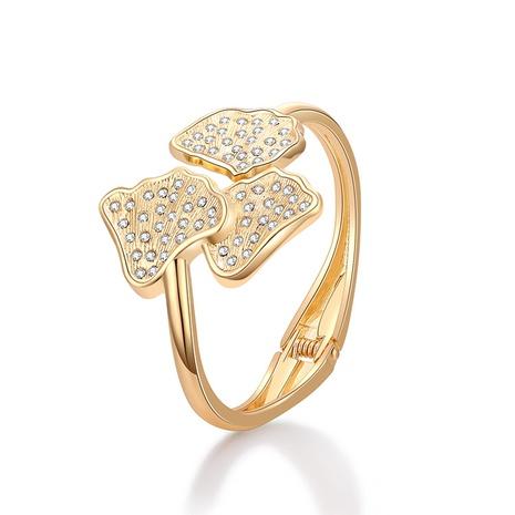 Fashion plant shape diamond bracelet NHBD334059's discount tags