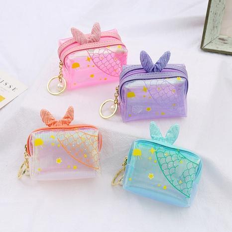 Portefeuille transparent sirène coréenne en gros NHAE334189's discount tags