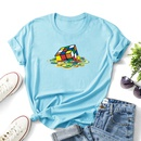 fashion pattern printing casual tshirt NHZN334497