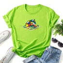 fashion pattern printing casual tshirt NHZN334497