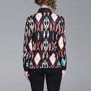 New printed longsleeved slim fit lapel shirt NHJG334488