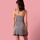 fashion sexy drawstring hollow lace sling dress NHWA335810