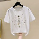 new embroidery starry sky tshirt  NHZN334369