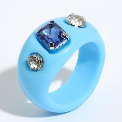 anillo de resina con piedras preciosas con incrustaciones retro NHJQ334316's discount tags
