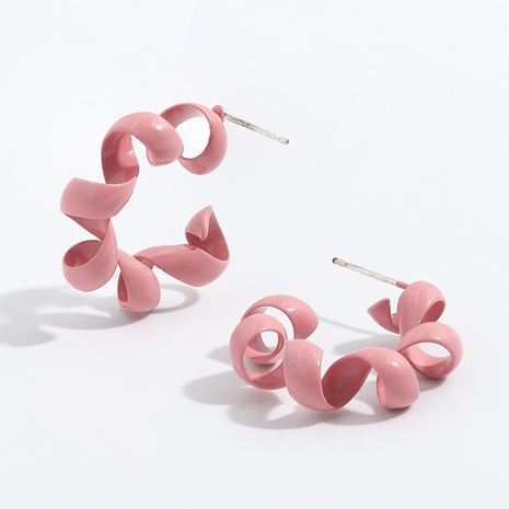 simple candy color earrings NHJQ334322's discount tags