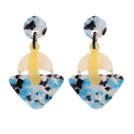 Fashion Acrylic Geometric Earrings Wholesale NHJJ334340's discount tags