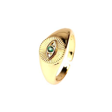Retro eingelegte Zirkon Augenring Großhandel NHPY334442's discount tags
