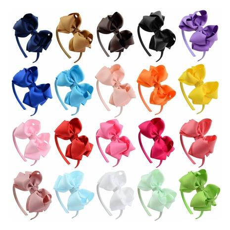Neues zweischichtiges Blumenstirnband-Set für Kinder NHMO334556's discount tags