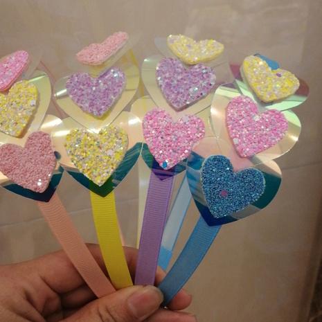 Neue koreanische Liebe Spitze Pailletten Kinder Stirnband NHWB334622's discount tags