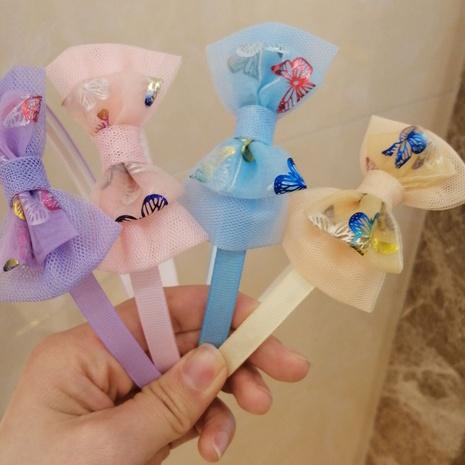 Neues koreanisches Kinderfliegenstirnband NHWB334621's discount tags