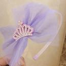 Korean new childrens crown headband NHWB334625
