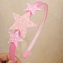 Childrens sequined Glitter pentagram butterfly hair band NHWB334626