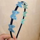 childrens new fashion butterfly headband  NHWB334628