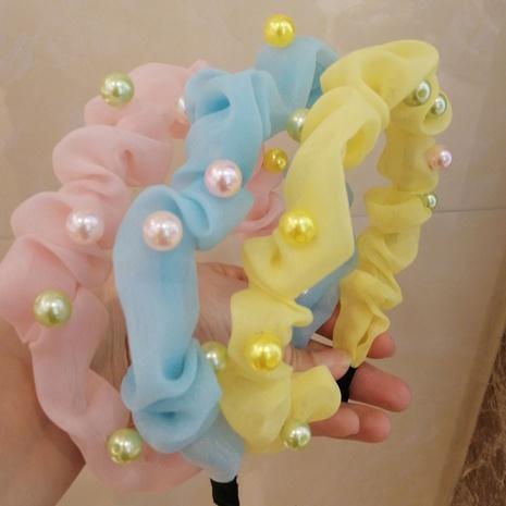 Neues koreanisches einfarbiges Stirnband NHWB334638's discount tags