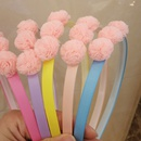 Korean new childrens simple irregular ball headband NHWB334664