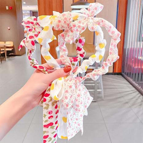 koreanisches Blumenfliegen-Stirnband NHNA334787's discount tags