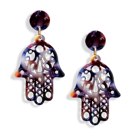 fashion palm acrylic earrings  NHAYN334914's discount tags