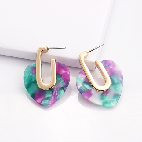 Retro geometric alloy earrings wholesale NHAYN334918's discount tags