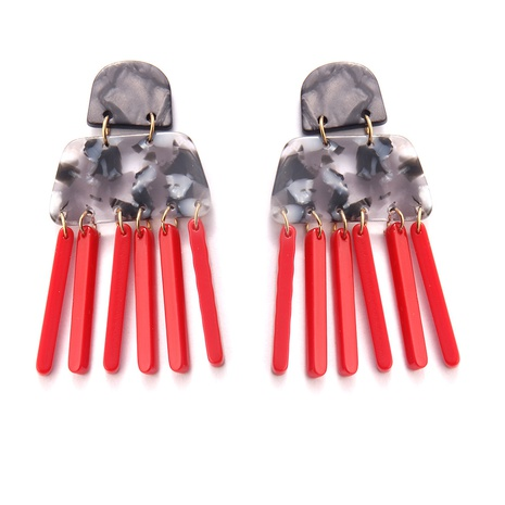 Fashion Acrylic Combination Tassel Earrings  NHAYN334928's discount tags