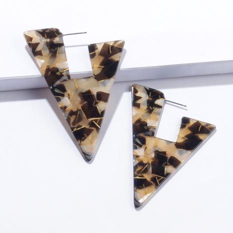 fashion triangle acrylic earrings NHAYN334931's discount tags