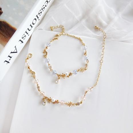 Simple moon diamond bracelet wholesale NHBY334973's discount tags