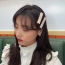 Korea geometric colorful resin hairpin wholesale  NHBY335006
