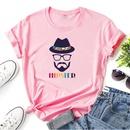 graphic print casual shortsleeved tshirt NHZN335054